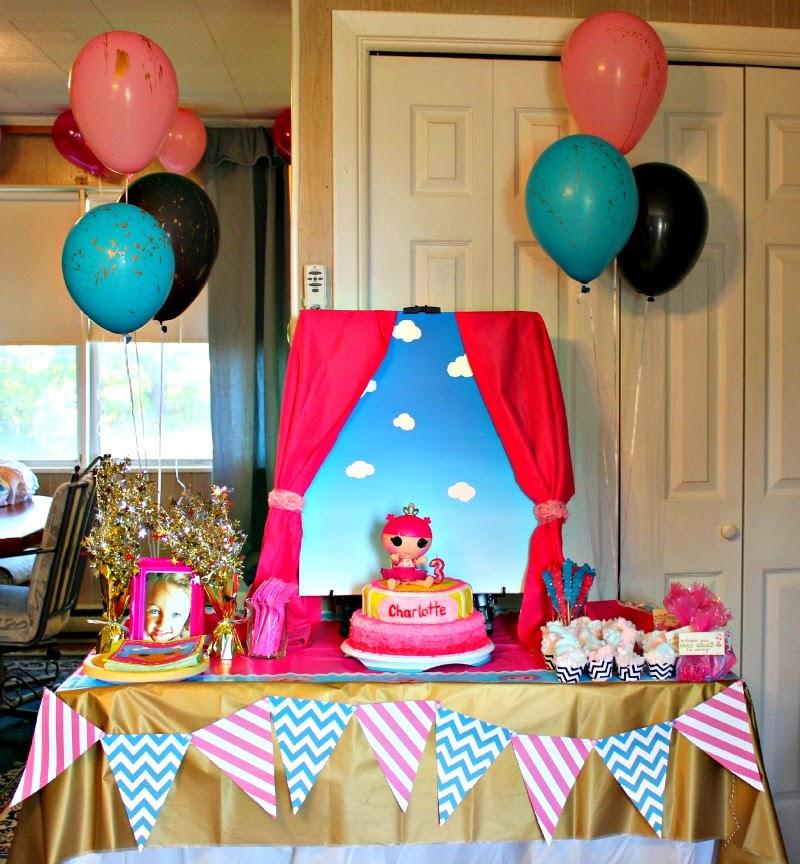 Christina Collins: Charlotte's Lalaloopsy Party