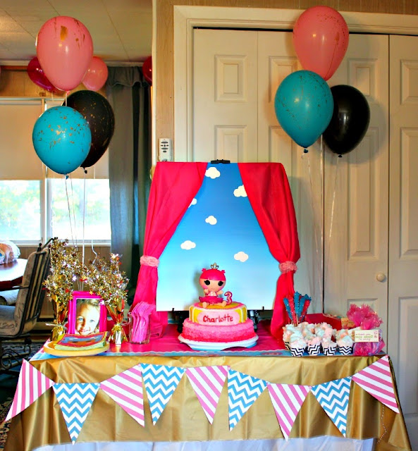 Birthday Party Charlotte Nc: Christina Collins: Charlotte's Lalaloopsy Party