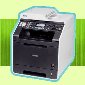 Brother MFC-9560CDW Compact Color Laser Printer