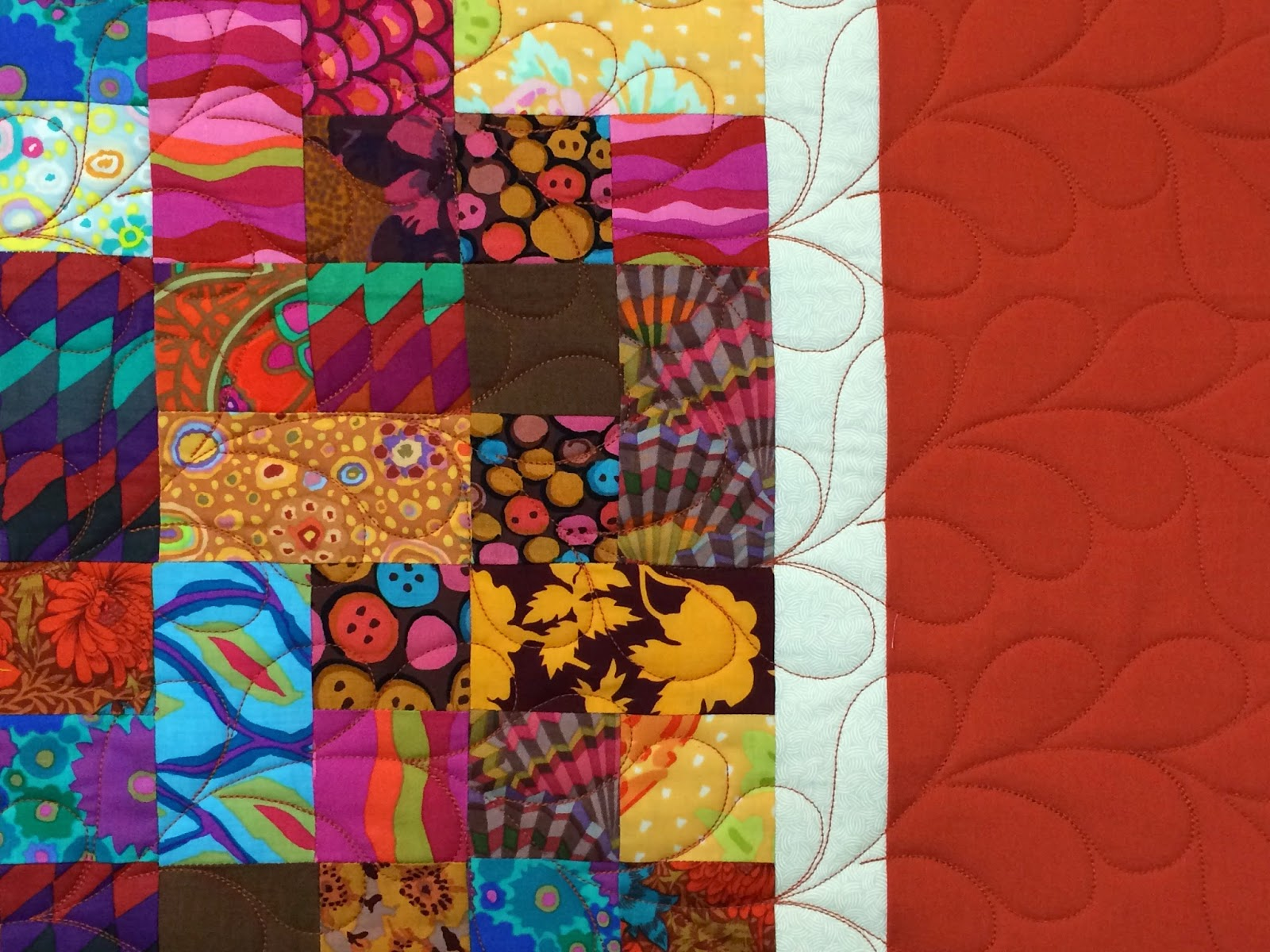 Leanne Strum Rust Color Quilt