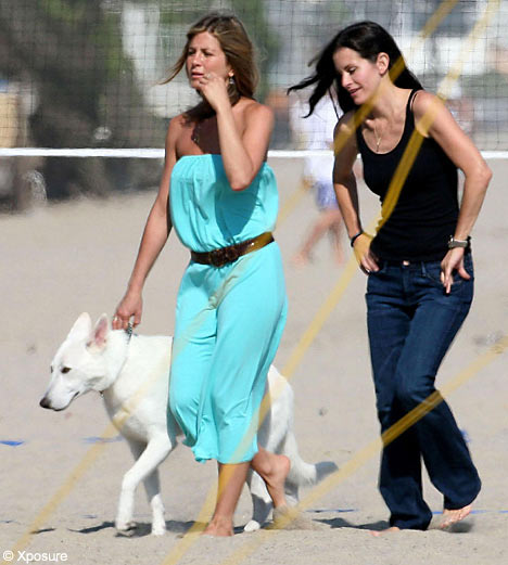 Hot Wallpaper Jennifer Aniston And Courteney Co