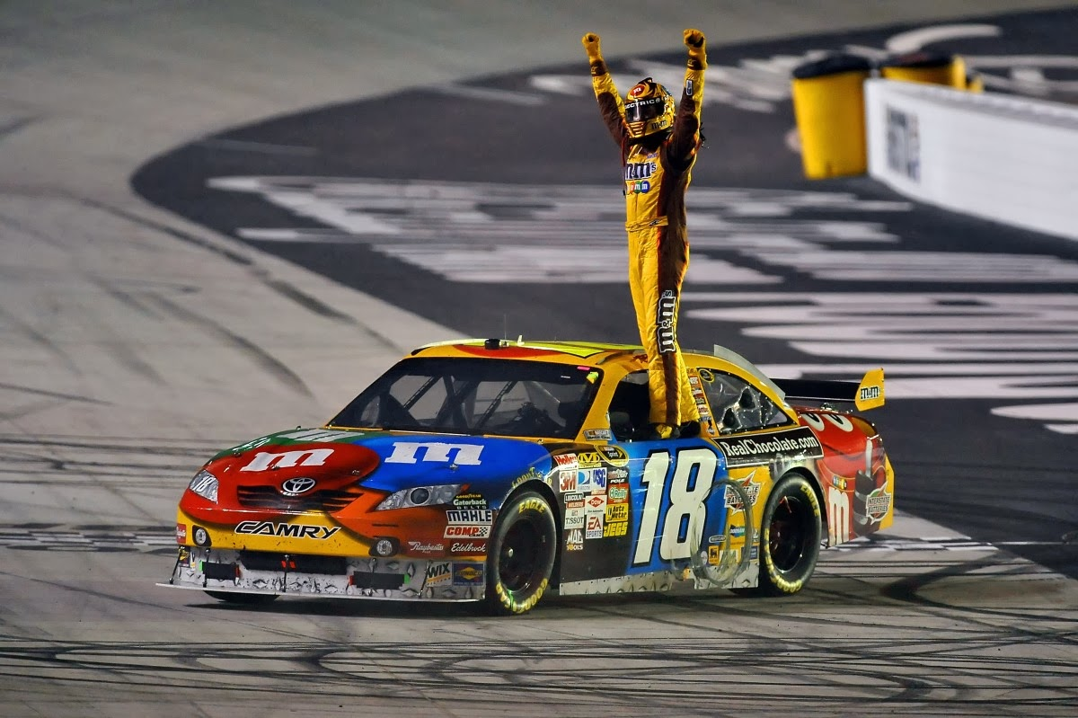 Behind the wall nascar ranking the greats chase era drivers - Pictures of kyle busch s car ...