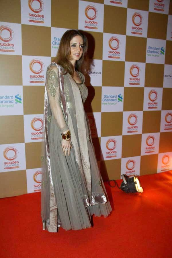 Suzanne Khan at Swades Foundation Fundraiser show