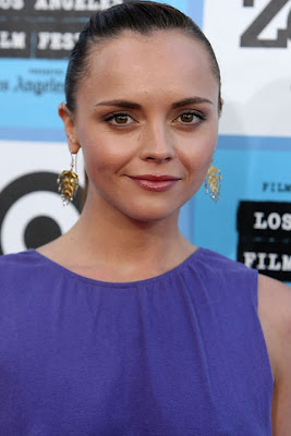Christina Ricci Gold Chandelier Earrings