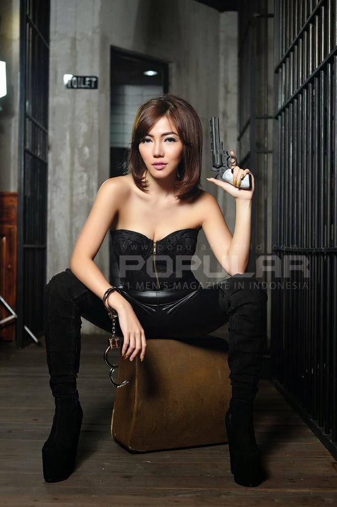 Bella Shofie Cantik dan Seksi di Popular Edisi Juli 2014