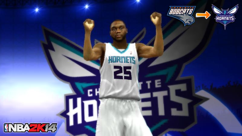CHA Hornets NBA 2K