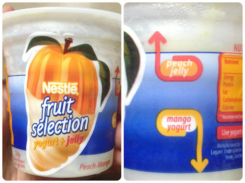 Nestlé Fruit Selection Yogurt+Jelly Peach Mango