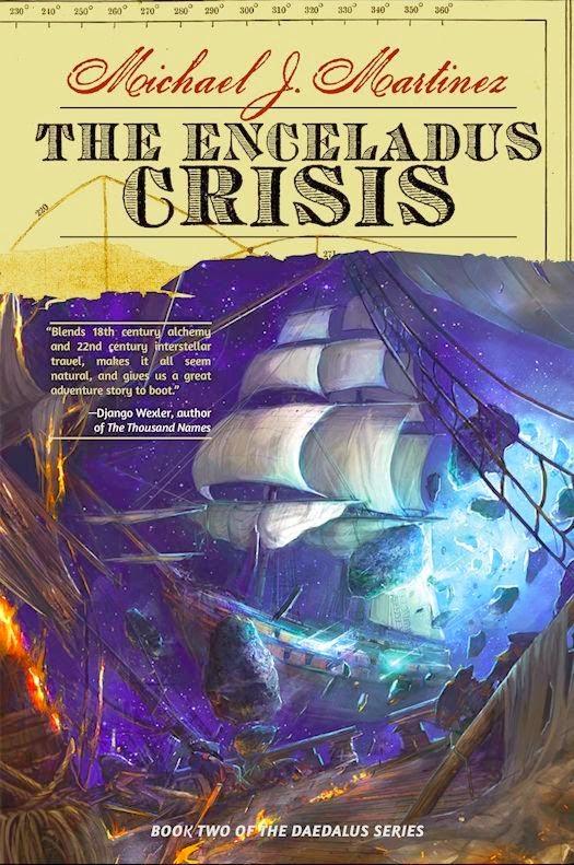 Michael J. Martinez: Five Things I Learned Writing The Enceladus Crisis