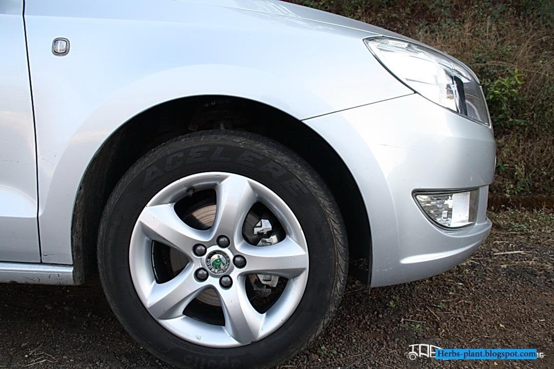 Skoda rapid car 2013 tyres/wheels - صور اطارات سيارة سكودا رابيد 2013