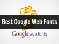 Best google web fonts list