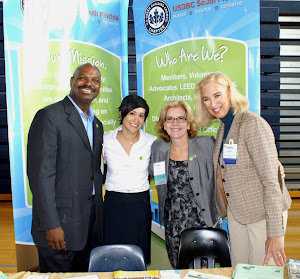 The USGBC South Florida Chapter Booth at Learn Green