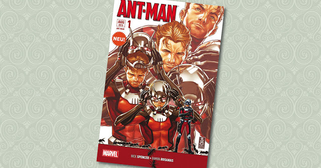Ant-Man 1 Sonderband Panini Cover