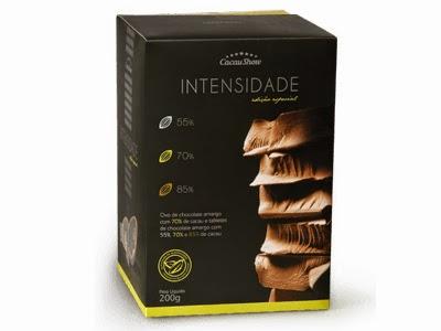 Cacau Show Páscoa Ovo Intensidade chocolate amargo