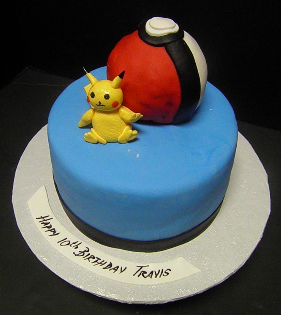 Edita's Cakes: Pokemon-Pikachu Cake