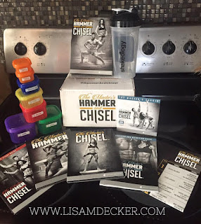 The Masters Hammer and Chisel, Hammer and Chisel, Hammer and Chisel Equipment, Hammer and Chisel Nutrition plan, Hammer and Chisel meal plan, 21 Day Fix meal plan, Hammer and Chisel Workouts