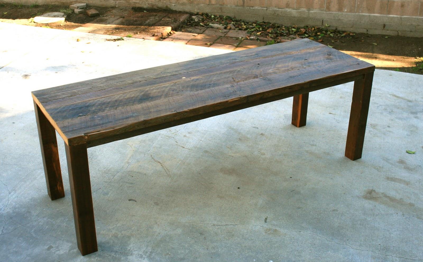 Arbor exchange reclaimed wood furniture 7 39 outdoor Reclaimed wood patio furniture