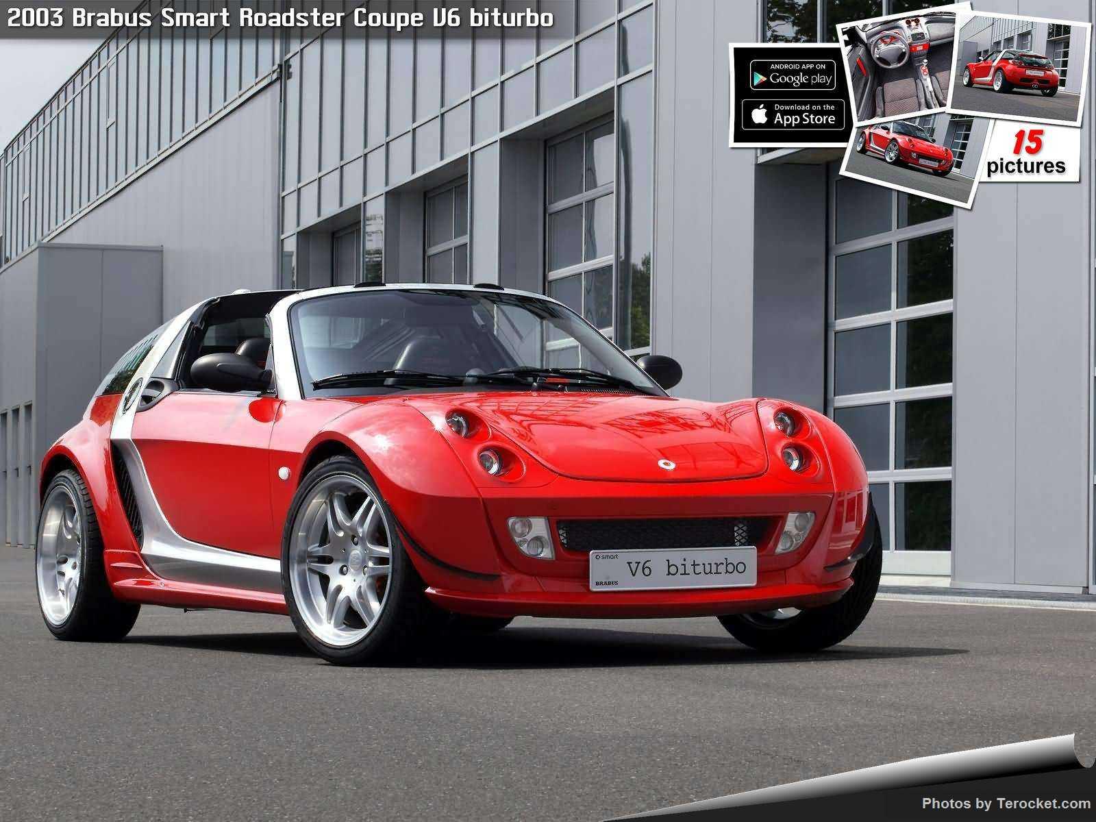Hình ảnh xe ô tô Brabus Smart Roadster Coupe V6 biturbo 2003 & nội ngoại thất