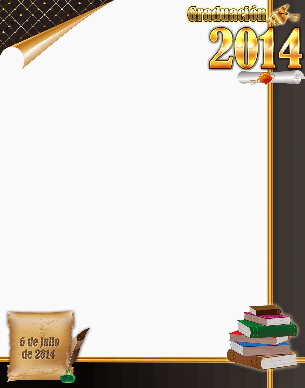 Invitaciones Para Graduaciones Preescolar Psd | MEJOR CONJUNTO DE