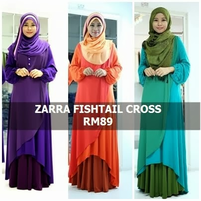 ZARRA FISHTAIL CROSS