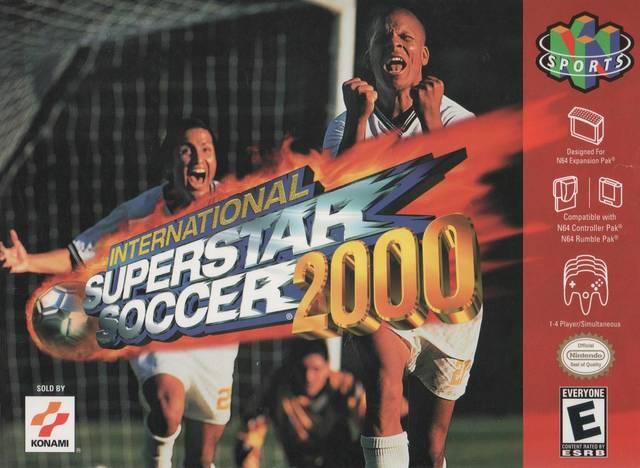 Download - International Superstar Soccer 2000 (ISS2k)