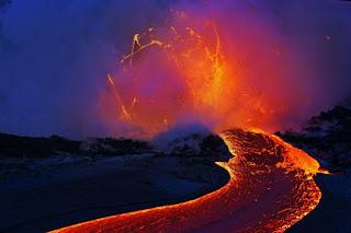 Foto-Foto keren & menakjubkan Lava Gunung Merapi