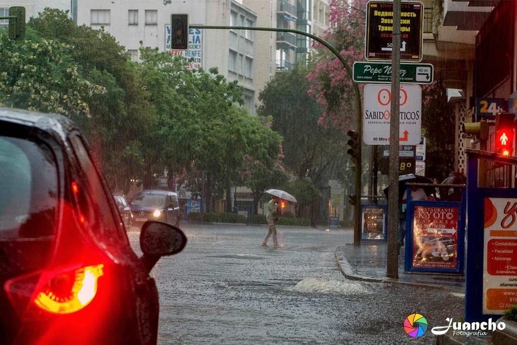 Tormenta en Avenida Ricardo Soriano