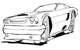 Desenho como desenhar os Carros antigos  pintar e colorir