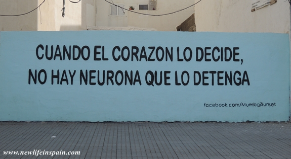 When the heart makes up its mind  no neuron can stop it Quotes About Life In Spanish Language
