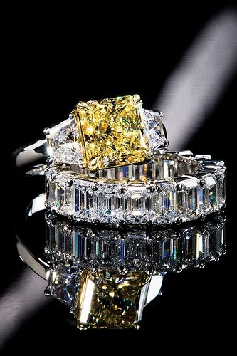 Yellow Diamond Engagement Rings My Jewelry Boxes Your