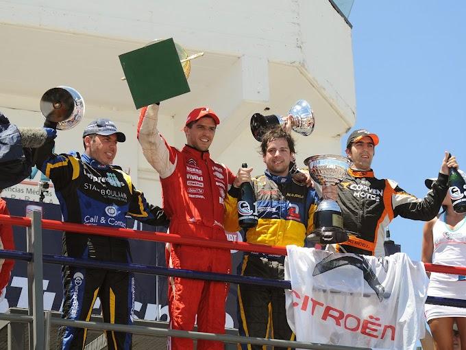 Rossi es campeón en la Clase 3 y Abdallah, en la 2