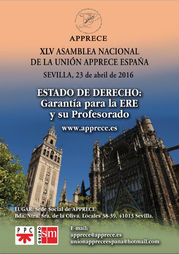 XLV ASAMBLEA NACIONAL DE UNIÓN APPRECE ESPAÑA