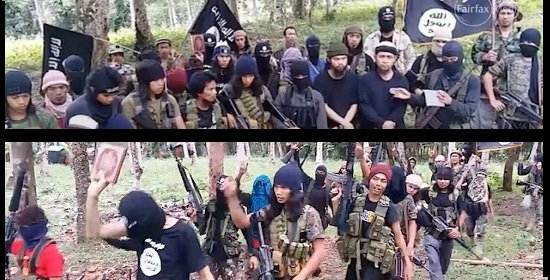 Image result for abu sayyaf and ISIS pic
