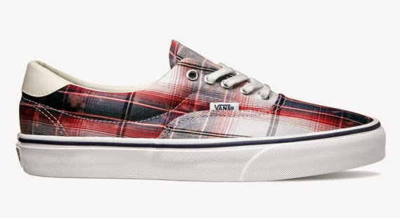Vans Distressed Plaid Classics - Era 59