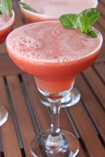 Watermelon Mint Lime Margarita