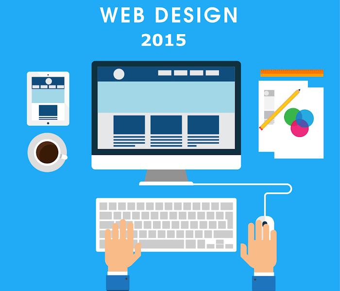 top 5 web desing tendencias para  blogger 2015