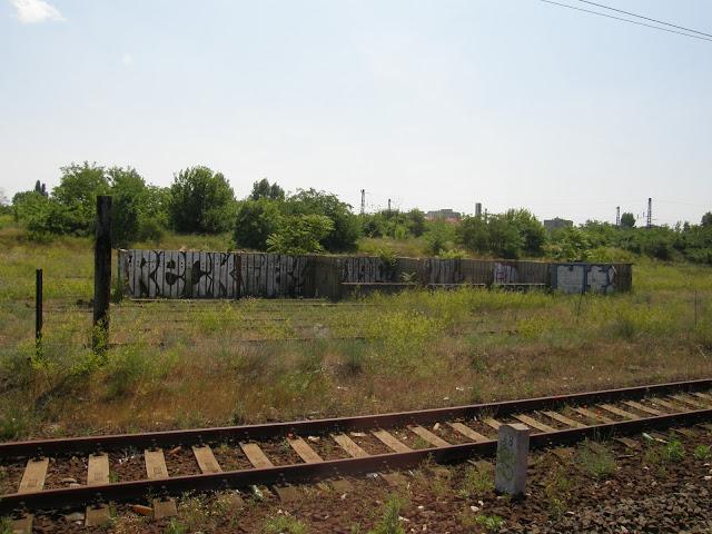 Vác, Magyarország, Hungary, graffiti, teg, RECk, falfirka