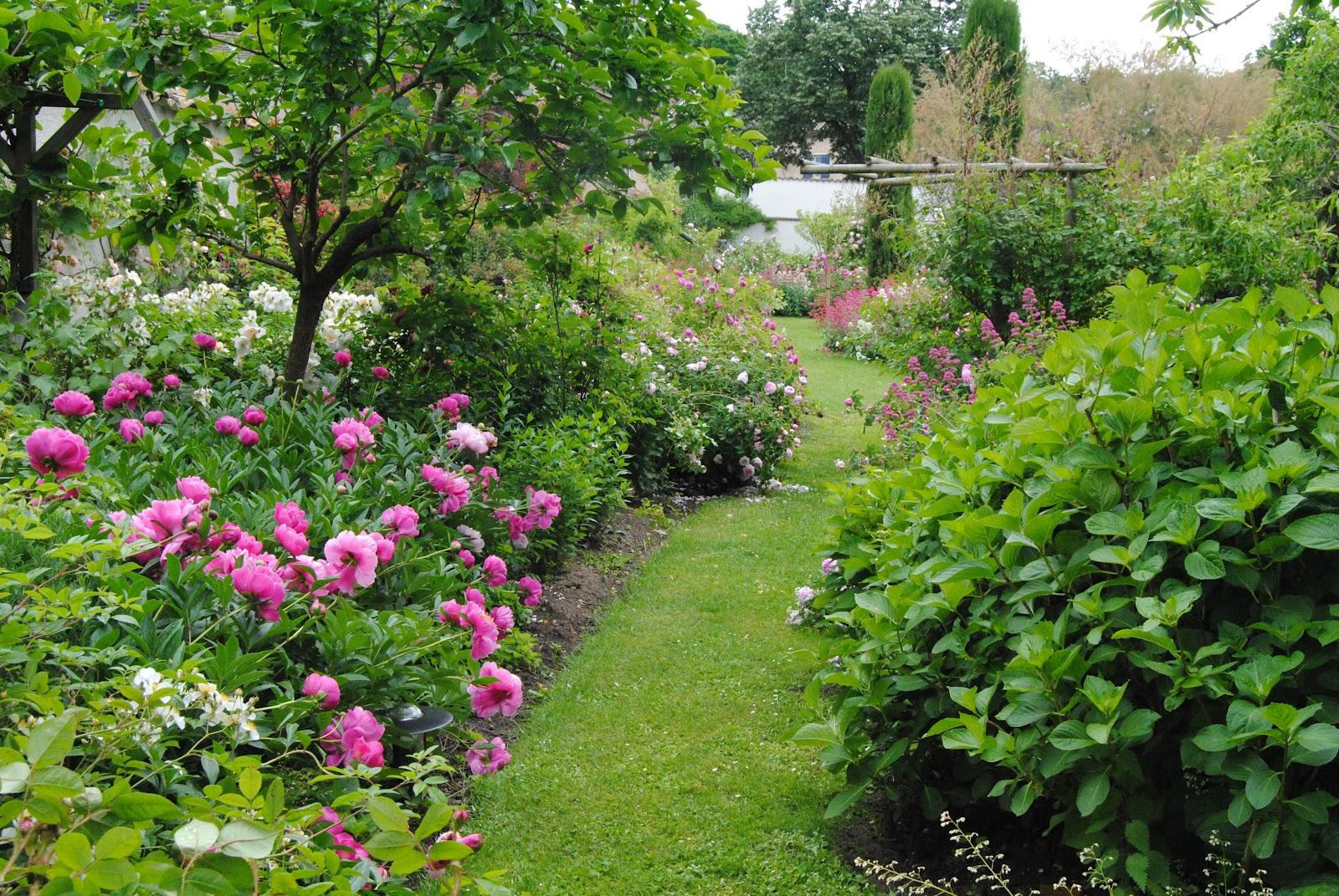 Les jardins au grand coeur Image jardin paysager