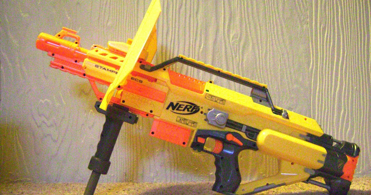 It 180 S All About Nerf Brasil Nerf Stampede Ecs 50