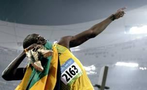 Homem mais rápido do mundo é negro