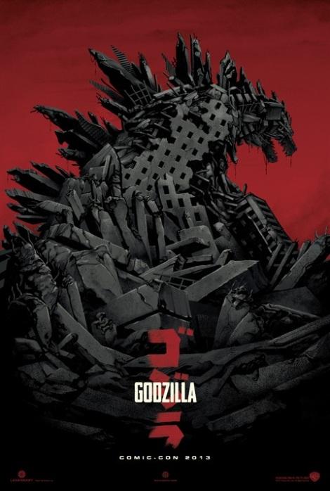 Brand new Godzilla Poster Summer 2014
