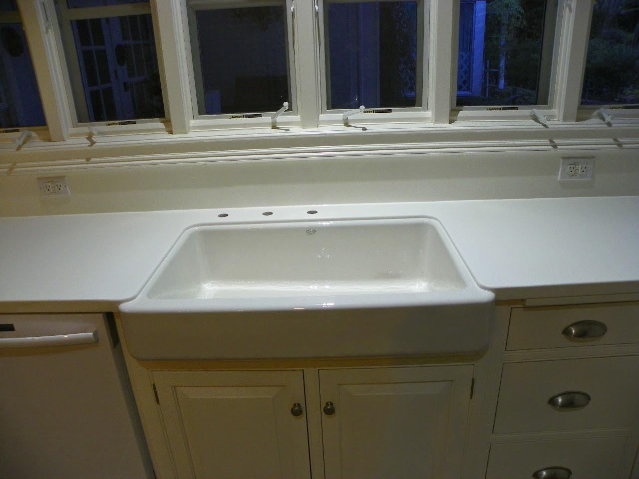 ... Blog: Retro Fit Undermount Farm Sink Installation in Pinehurst, NC