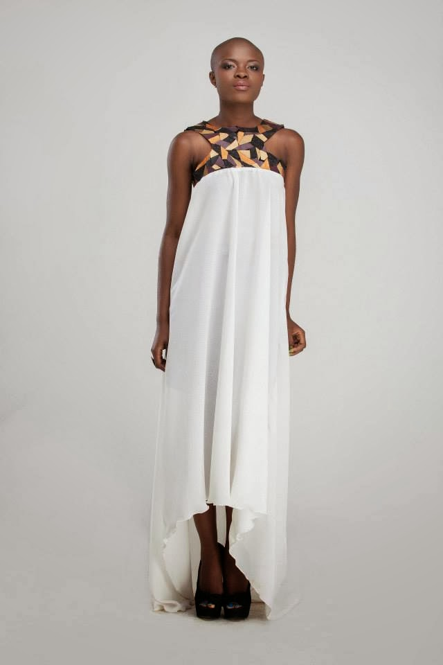 African print dress from Ameyo see more on ciaafrique.com