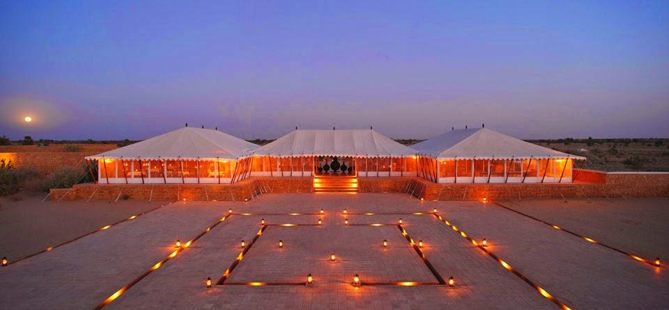 Glamping in Rajasthan