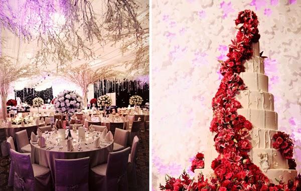 Mẫu bánh cưới đẹp lộng lẫy và cầu kỳ cho tiệc cưới 1
