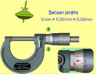 Simulasi Jangka Sorong & Mikrometer