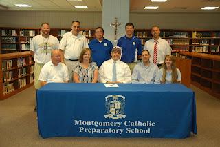 Montgomery Catholic's Murray Commits to Huntingdon 1