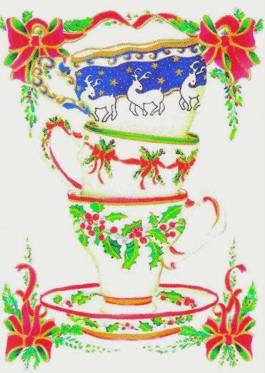 Relevant Tea Leaf 2013 Tea Themed Christmas Cards