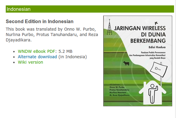 Ebook: Jaringan Wireless di Dunia Berkembang
