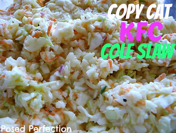 Copy Cat KFC Cole Slaw