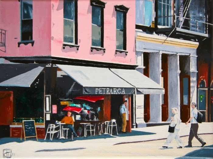 Современный британский художник. John Tierney